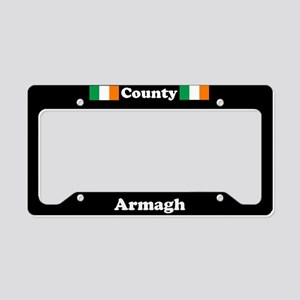 County Armagh - LPF License Plate Holder