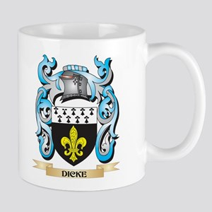 Dicke Coat of Arms - Family Crest Mugs