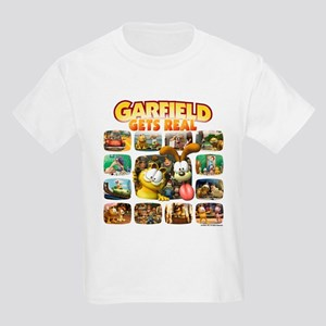 Garfield Gets Real Kids Light T-Shirt