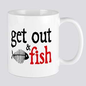 Get Out & Fish Mug