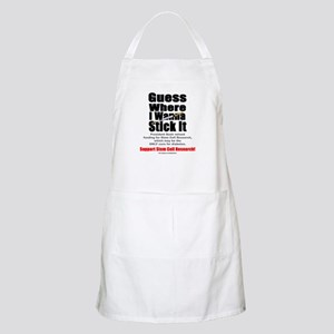 Stick It BBQ Apron