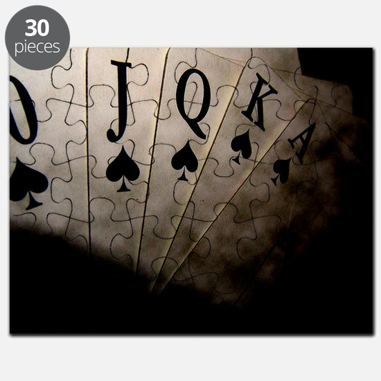 Poker Ace Cards Puzzle