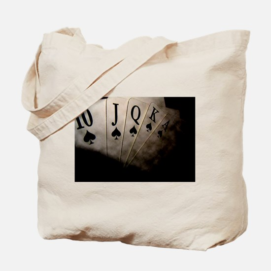 Poker Ace Cards Tote Bag