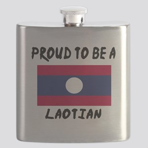 Proud To Be Laotian Flask