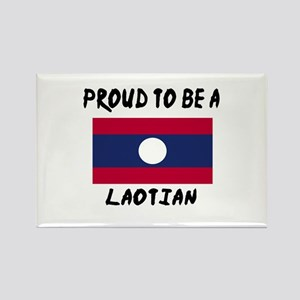 Proud To Be Laotian Rectangle Magnet