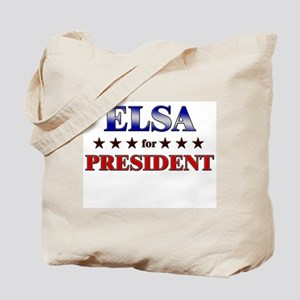 ELSA for president Tote Bag