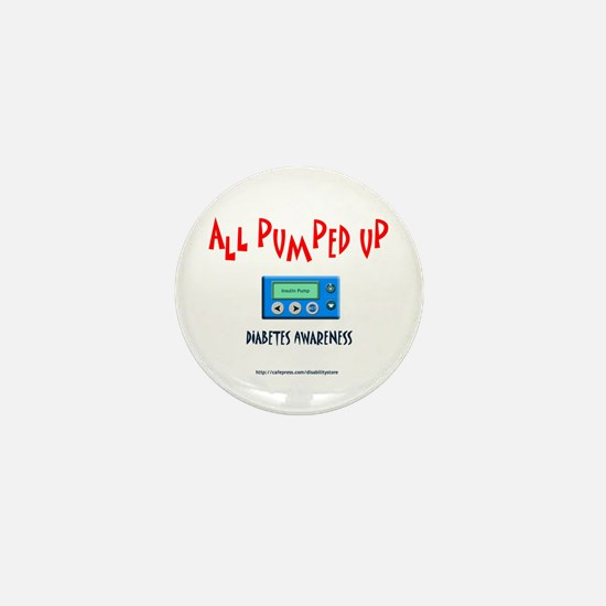 All Pumped Up Mini Button