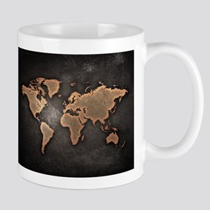 World Map Mugs