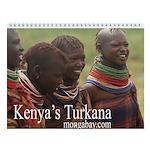Turkana of Kenya Wall Calendar