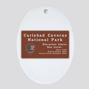 Carlsbad Caverns National Park, New Oval Ornament