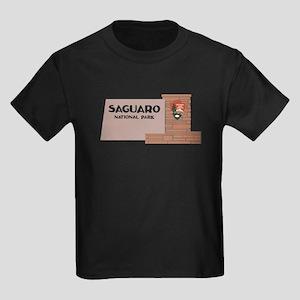 Saguaro National Park, Arizona, Kids Dark T-Shirt