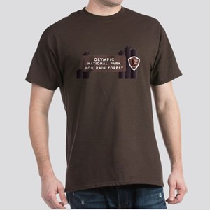 Hoh Rainforest-Olympic National Park, Dark T-Shirt