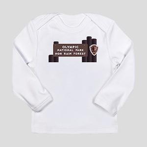 Hoh Rainforest-Olympic Long Sleeve Infant T-Shirt