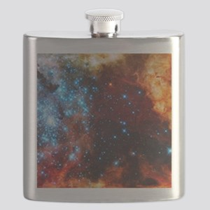 Orange Nebula Flask