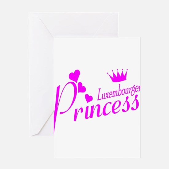 Luxembourger Princess Greeting Card