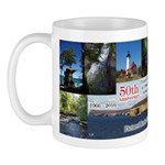 Pictured Rocks 50th Anniversary Multi Pict Mugs