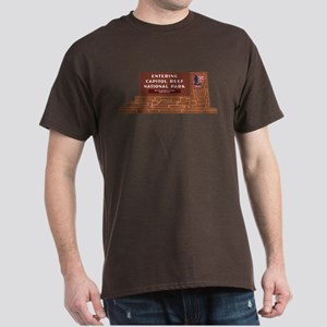 """Entering Capitol Reef National Park"" Dark T-Shirt"
