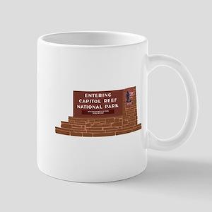 """""""Entering Capitol Reef National Park"""", Mug"""