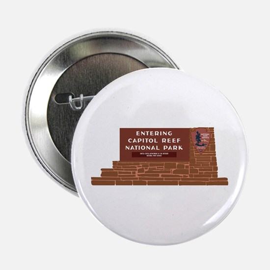 """""""Entering Capitol Reef National Park"""" 2.25"""" Button"""