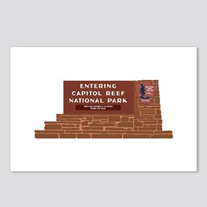 """""""Entering Capitol Reef Na Postcards (Package of 8)"""