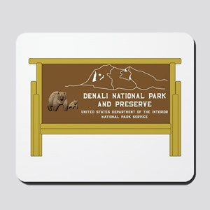 Denali National Park and Preserve, Alask Mousepad