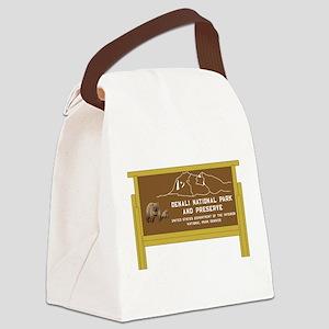 Denali National Park and Preserve Canvas Lunch Bag
