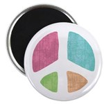 "Stencil Peace 2.25"" Magnet (100 pack)"