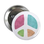 "Stencil Peace 2.25"" Button (100 pack)"
