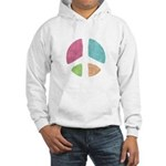 Stencil Peace Hooded Sweatshirt
