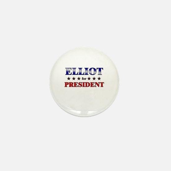 ELLIOT for president Mini Button