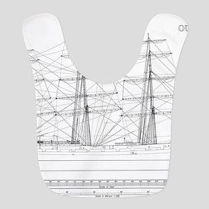 Balclutha Ship Outboard Profile Diagram Bib