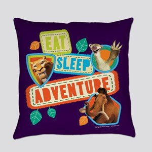 Ice Age Eat Sleep Adventure Everyday Pillow