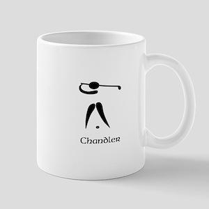 Team Golf Monogram Mug