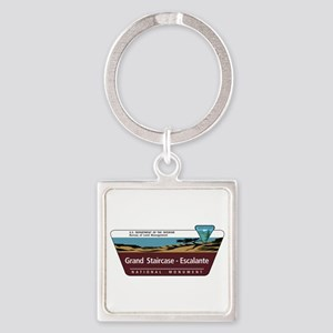 Grand Staircase-Escalante National Square Keychain