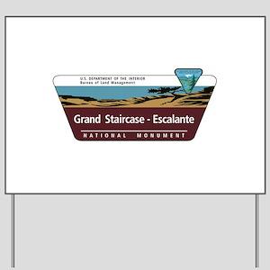 Grand Staircase-Escalante National Monum Yard Sign