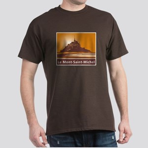 Mont Saint-Michel, France Dark T-Shirt