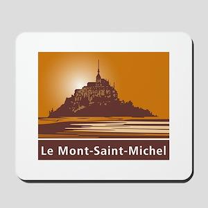 Mont Saint-Michel, France Mousepad