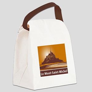 Mont Saint-Michel, France Canvas Lunch Bag