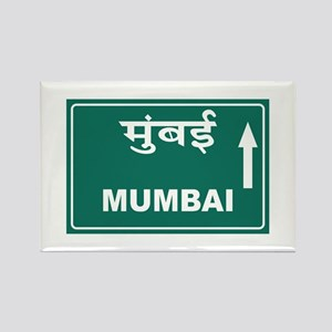 Mumbai (Bombay), India Rectangle Magnet
