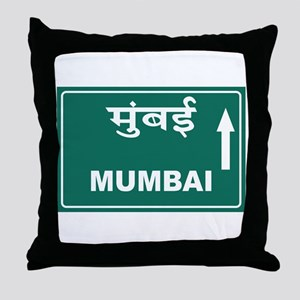 Mumbai (Bombay), India Throw Pillow