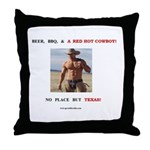 Welcome to Texas! #883 Throw Pillow