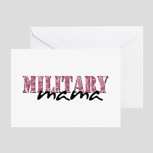 (Pink Camo) Greeting Card