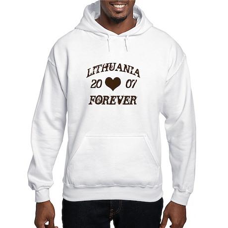 Lithuania Forever Hooded Sweatshirt