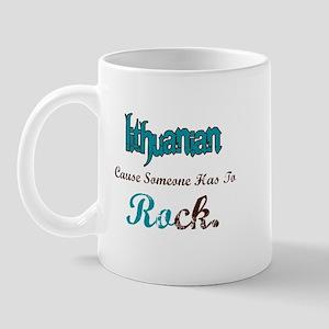 Lithuanian Rock Mug