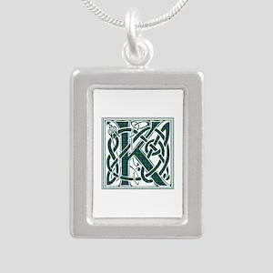 Monogram - Keith Silver Portrait Necklace