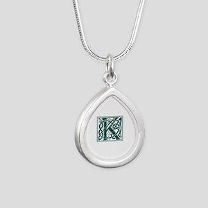 Monogram - Keith Silver Teardrop Necklace