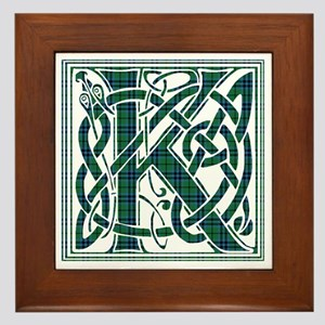 Monogram - Keith Framed Tile