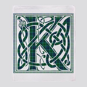 Monogram - Keith Throw Blanket