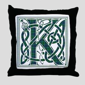 Monogram - Keith Throw Pillow