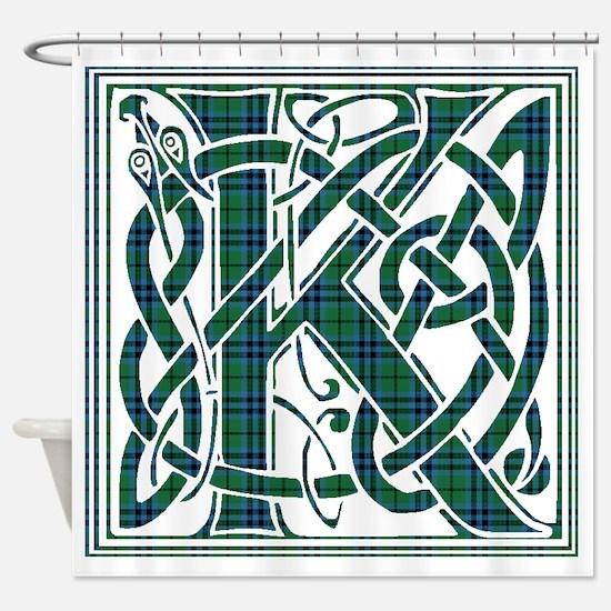 Monogram - Keith Shower Curtain
